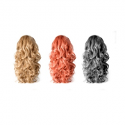 Variety of Wigs in Different Colors